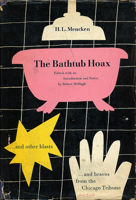 vintage book cover design by Paul Rand