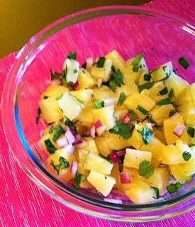 Fresh Pineapple Salsa