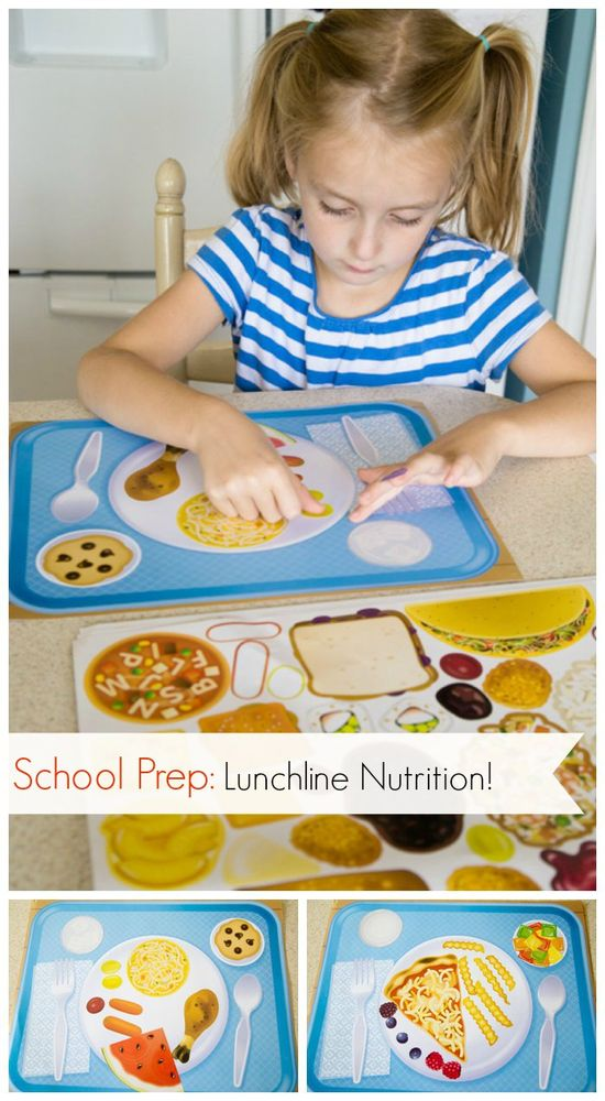{Teaching Nutritious Choices for the Lunch Line} Help prep your little one for making food decisions during school hot lunch...