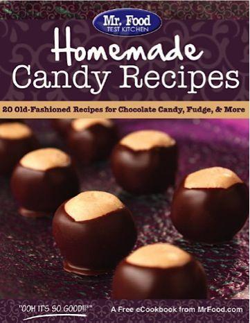 FREE e-Cookbook: 20 Homemade Candy Recipes!