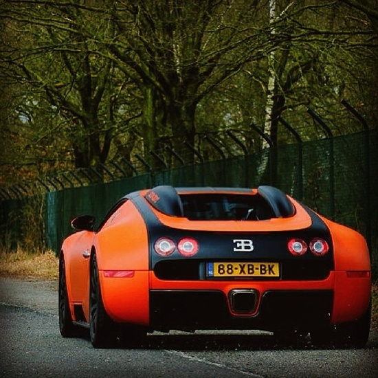 I think this sun kissed orange and black Bugatti is the most beautiful bugatti made! Do you agree?