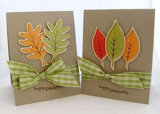 thanksgiving card set . . . nice . . .