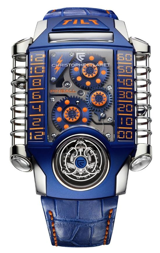 Not sure about this - Christophe Claret X-TREM-1 Pinball Piece Unique For Only Watch 2013