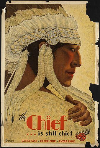 The Chief...is still chief - Santa Fe Railway