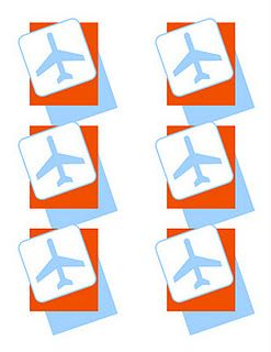Airplane Free Printable Luggage Tags