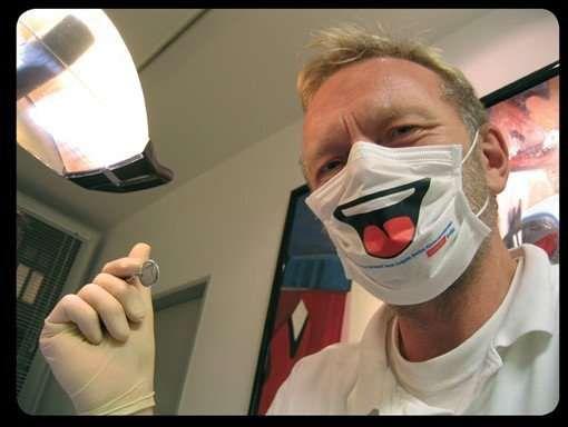 Funny Mask Dentist