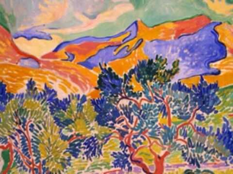 short youtube video showing fauve paintings- appropriate the show at school!