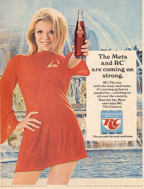 YouRememberThat.Com - Taking You Back In Time... - Meredith MacRae RC Cola Ad