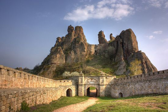 castle belogradchik, bulgaria