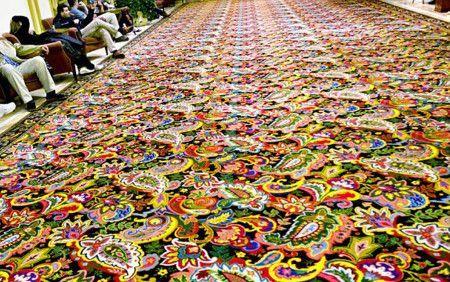 Colours Full Carpet Floor Design Ideas -