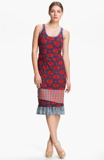 MARC BY MARC JACOBS Cotton Jersey Tank Dress