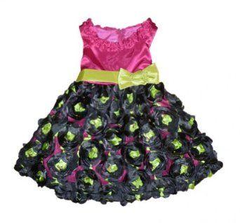 Baby Girl Flowers Formal Dress