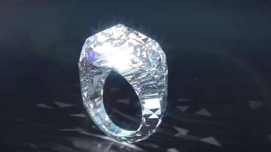 World's First All #Diamond Ring