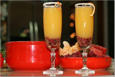 Christmas Morning Mimosas