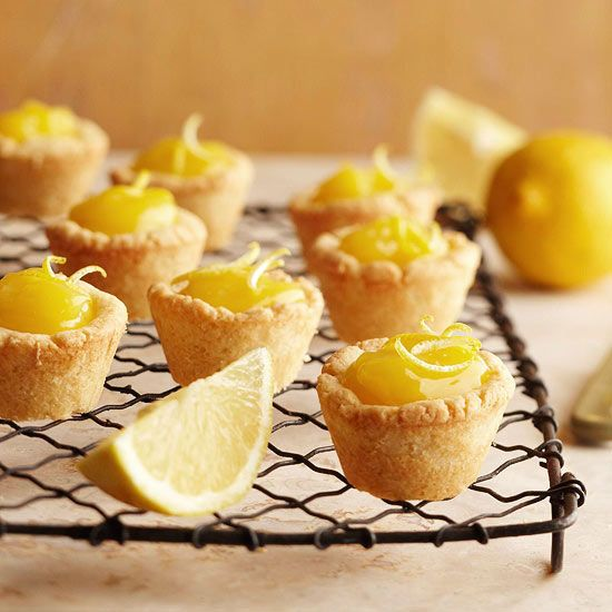 These delicious sweet-tart Lemon Curd Tassies taste as good as they look! More Easter recipes: www.bhg.com/...