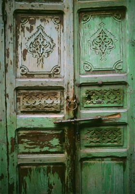Green Doors, Essaouira, Morocco
