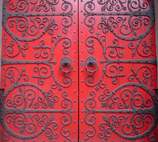 exquisite doors . . .