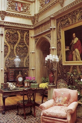Great Hall Highclere Castle ~ Downton Abbey