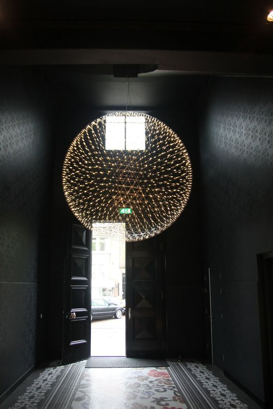 Pictures of the entrance of the office of the Marcel Wanders office / Moooi Design Studio in Amsterdam.