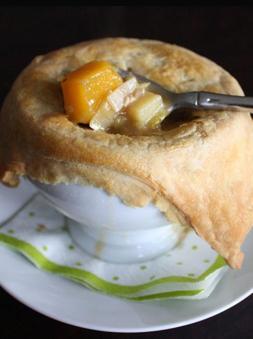 Autumn Vegetable Pot Pie - pure comfort food.