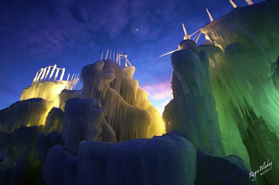 Ice Castles in Midway