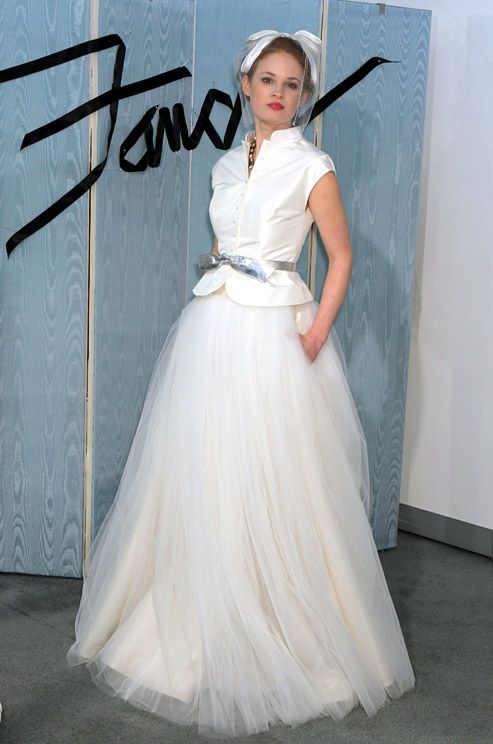 Fancy wedding dress, Spring 2012