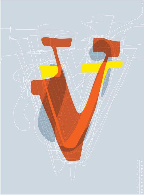 """A Graphic Designer's Alphabet"