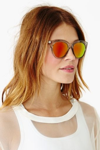 Half Moon Magic Shades by Le Specs, exclusively for Nasty Gal
