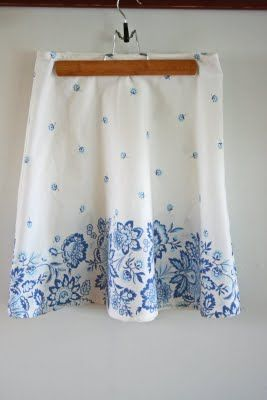 Skirt from table cloth.  The tutorial is here:  www.vanessachrist...