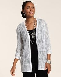 Travelers Collection Shimmering Nadia Cardigan