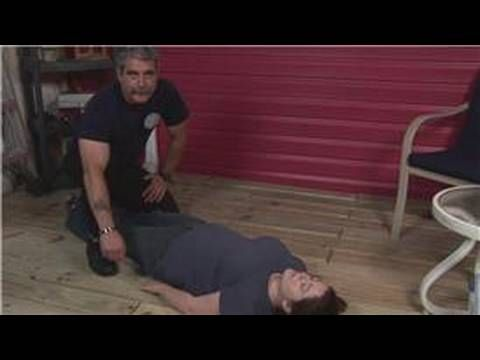 Emergency Health Tips : The Heimlich Maneuver: Unconscious Choking Person