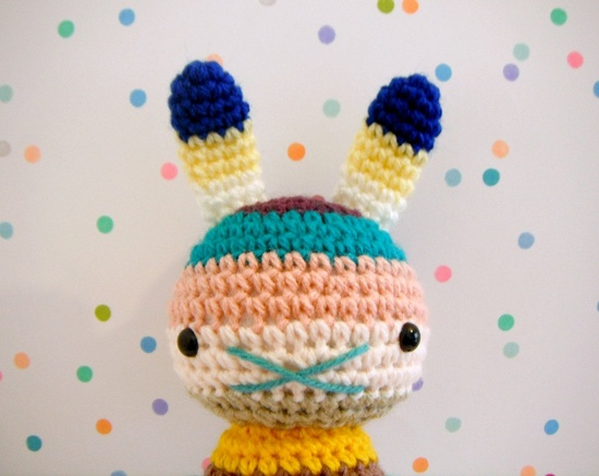 Crochet bunny - available to purchase from Etsy