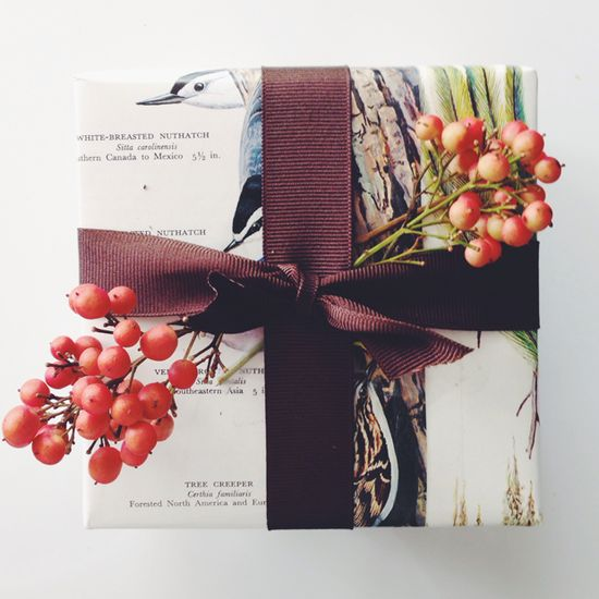 Creative Gift Wrap Idea / Justina Blakeney