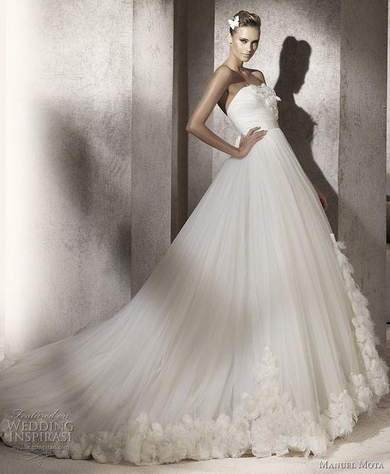 2012 manuel mota prestigio wedding dress pronovias