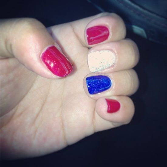 deananguyen's festive tips. Show us your 4th of July-inspired nails! Tag your pic #SephoraNailspotting to be featured on our social sites.