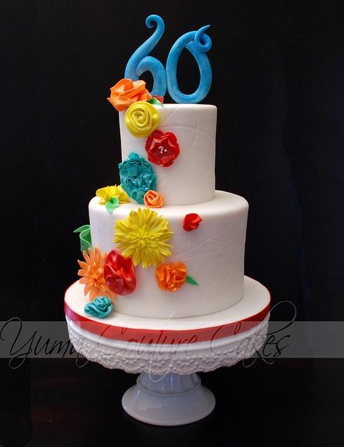 Birthday cake Yuma AZ by Yuma Couture Cakes, via Flickr