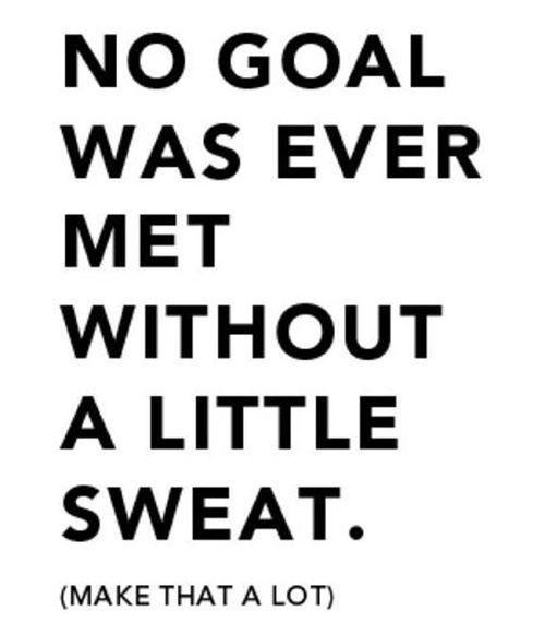 workout sweat