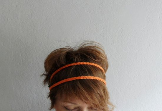 Double Strand Headband Double Braid Hair Band by fizzaccessory, $5.00