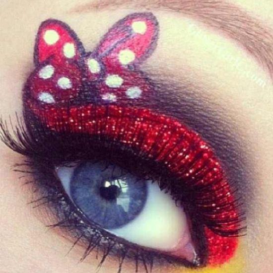 Precious eye makeup!