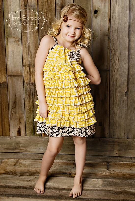 Pillowcase Dresses--This one is EXTRA cute!!