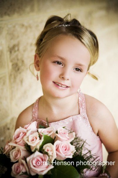 Beautiful flower girl Lorna Henson Photographer