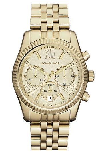 Michael Kors 'Lexington' Chronograph Bracelet Watch