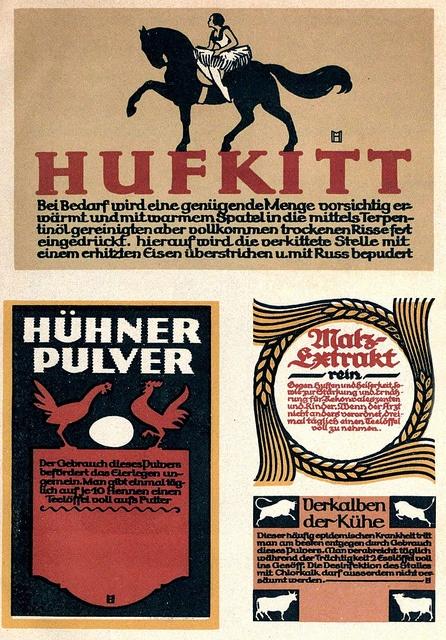 Graphics  From Jahrbücher 1912.
