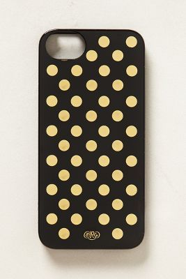 gilt dot iphone 5 case / anthropologie