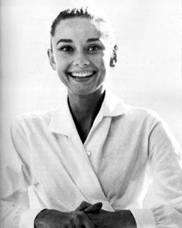 Audrey Hepburn - White Shirt