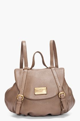 MARC BY MARC JACOBS //  CLASSIC LEATHER BACKPACK
