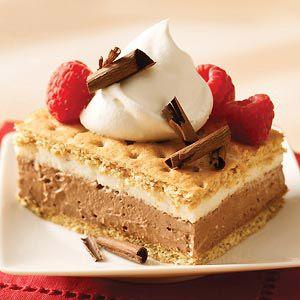 S'mores Pudding Dessert: