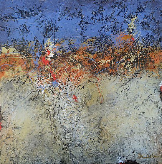 Natural Diffusion: Nancy Eckels: Acrylic Painting