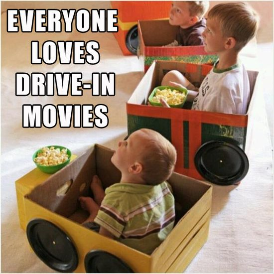 6 make toy cars for kids, in boxes, to watch a movie, cute idea