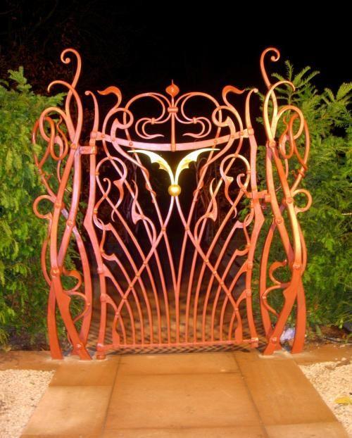 Art Nouveau and Art Deco, Some Art Nouveau Gates
